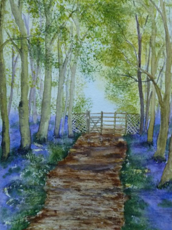 Watercolour painting workshops Telford