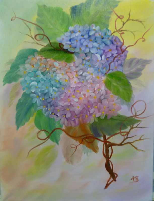 Flower painting class - Telford