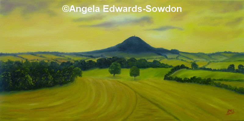 The Wrekin painting, Telford Artist