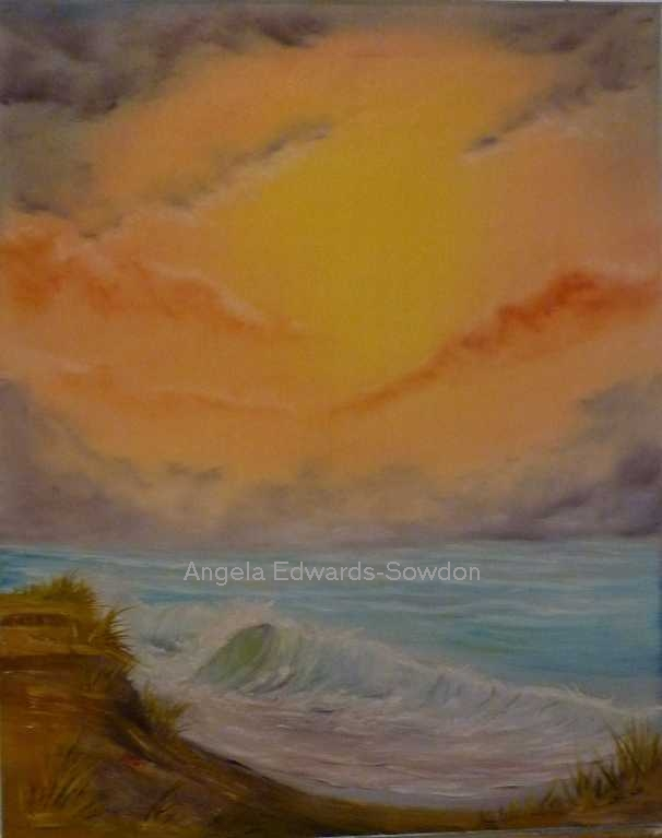Seascape Painting - Oils